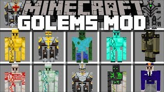 MUHTEŞEM GOLEM'LER MODU ( ZENGİN GOLEM VS FAKİR GOLEM ) - Minecraft
