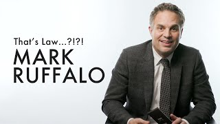 Mark Ruffalo Stars as an Attorney in 'Dark Waters.' We Tested Him to See If He Knows the LAW! | ELLE