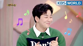 Din Din is so charming 😍  [Hello Counselor Sub : ENG,TAI / 2018.03.05]