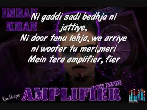 Xxx Mp4 Imran Khan Amplifier With Lyrics 3gp Sex