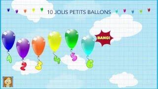 10 jolis petits ballons - Corinne Albaut