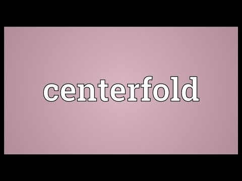 Centerfold Meaning