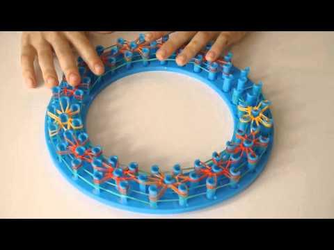 Круглое плетение резиночек