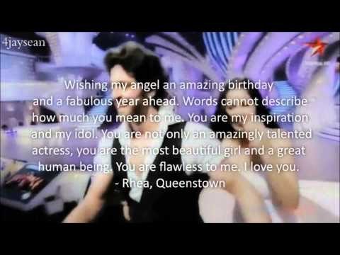 ✖ Katrina Kaif // Happy 28th Birthday ❥ From Your Fans ✖