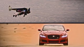 ► 2016 Jaguar XJR vs. Jetman