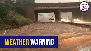 WATCH: Flood warning issued as heavy rains persist