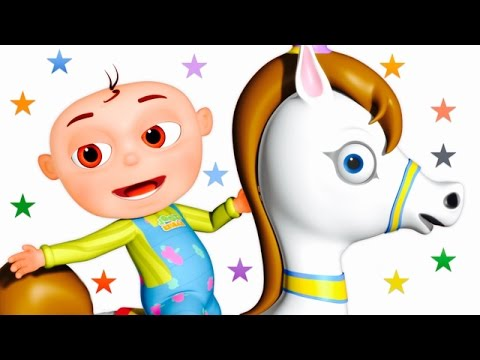 Five Little Babies Riding A Horse Five Little Babies Collection Zool Babies Fun Songs