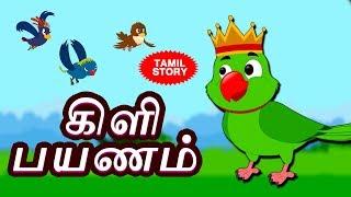 கிளி பயணம் - Bedtime Stories For Kids   Fairy Tales in Tamil   Tamil Stories for Kids   Koo Koo TV
