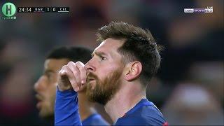 اهداف مبارة برشلونة و سيلتا فيجو  | 5-0  | الدوري الإسباني |  4-3-2017
