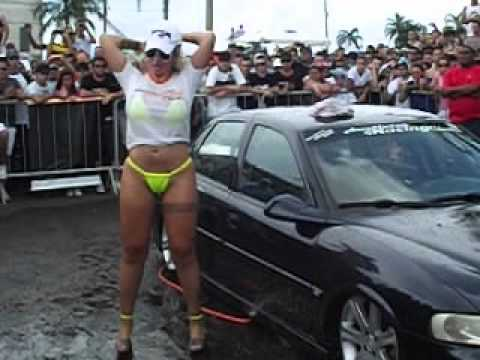 Lava car com Sabrina boing boing no mega encontro de Americana.