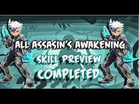 COMPLETED !!! All Assassin's Awakening Skill Preview - Dragon Nest Nrew Update
