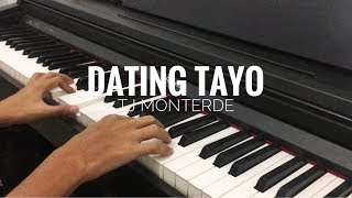 Tj Monterde - Dating Tayo (Piano Cover)