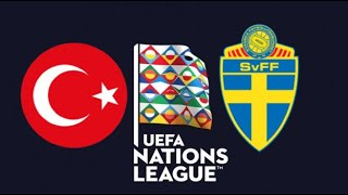 FIFA 19 TURKEY VS SWEDEN UEFA NATIONS LEAGUE