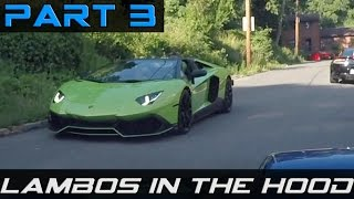 Part 3: Supercars Lost In The Hood!!