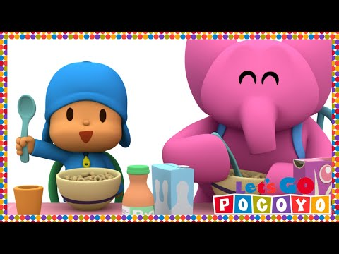 Let s Go Pocoyo Pocoyo s Breakfast Episode 40 in HD