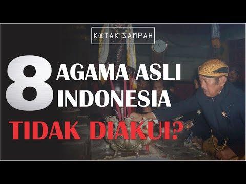 8 AGAMA INI TIDAK DIAKUI PEMERINTAH INDONESIA