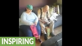 Deaf parents learn they'll be grandparents for the first time