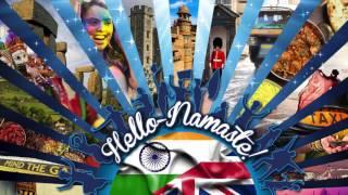 Hello-Namaste! #UKWelcomesModi