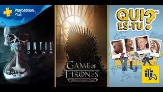 Les jeux PS Plus de juillet 2017