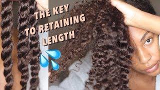 Extreme MOISTURE Natural Hair REGIMEN / ROUTINE for length retention