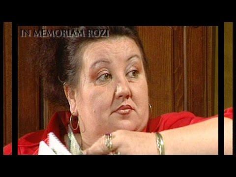In memoriam Rozi Rozalia Rus