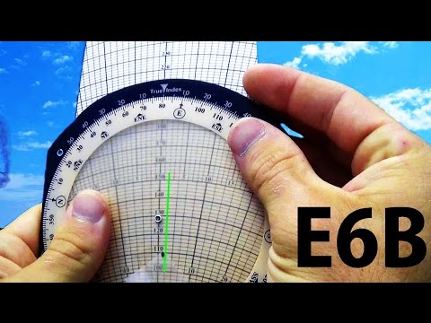 Ground School: E6B Wind Correction Angles | How to calculate Ground Speed, WCA, Magnetic Heading