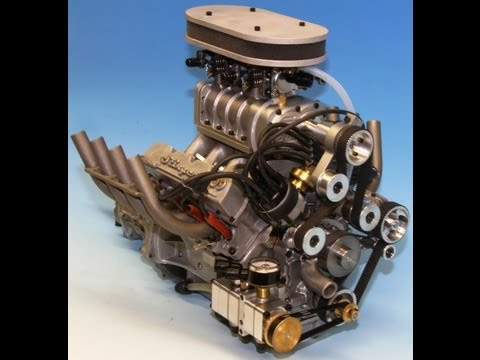 Conley Factory Tour Model V8 Working 1 4 Scale Engine