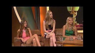 Die Topmodel-Finalistinnen 2014 bei Stefan Raab - TV total
