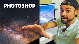 BETTER Way to Edit Milky Way Photos in Photoshop (EASY)