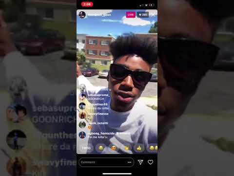 Xxx Mp4 Goonew Says He Is Still Cool With Hoodrich Pablo Juan And Mpr On Ig Live 3gp Sex