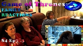 Game of Thrones FAMILY REACT S4 Ep7 .3