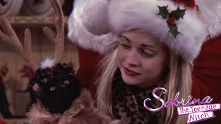 REVIEW: Sabrina the Teenage Witch Season 2, episode 12 - 'Sabrina Claus'   Amy McLean