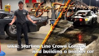 Stevie Fast: Starting Line Crowd Control & Building a Bracket Racing Car!