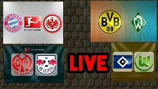 Bayern vs Eintracht + Dortmund vs Werder + Mainz vs Leipzig + Hamburger vs Wolfsburg