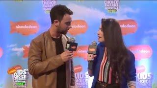 Alfombra Naranja | Kids Choice Awards Argentina 2016