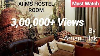 Hostel Room of AIIMS