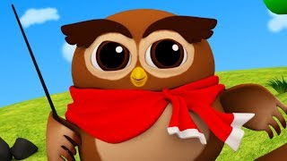 Wise Old Owl | Nursery Rhymes and Junior Squad Songs by Kids Tv
