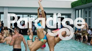 Best Pool Party in Miami - Paradise Sunday's - Vibrant Media Productions