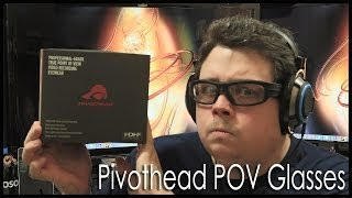 Unbox and Review of my Pivotheads POV Camera Glasses, nice GoPro alternative.