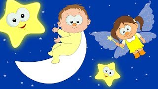 Lullaby - Twinkle Twinkle Little Star | Lullabies For Babies | Bedtime Songs | HooplaKidz TV