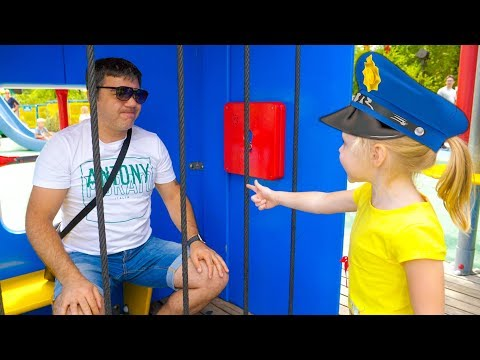 Xxx Mp4 Nastya And Papa Pretend Play At The Amusement Park 3gp Sex
