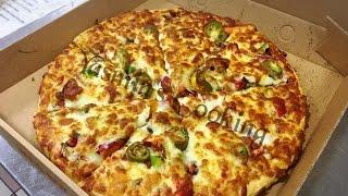 Chicken Tikka Pizza Made in my takeaway (how to make Chicken tikka pizza)