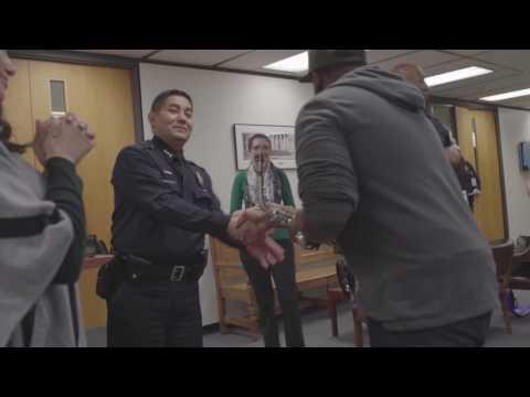 Denver Police Department Special Guest saxophonist Harold Rapp III