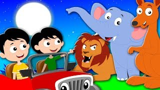 Wonderful Zoo Nursery Rhymes Songs For Children Kids Song For Toddler Kids Tv