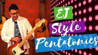 Eric Johnson Style  Pentatonic Ideas Guitar Lesson(www.tamsguitar.com)