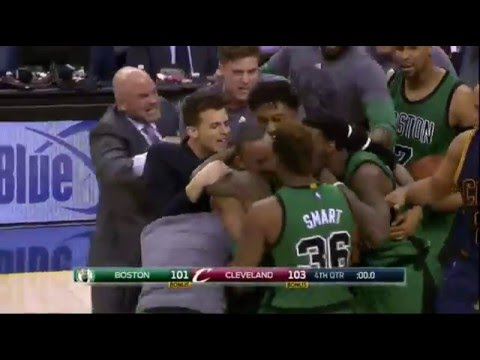Avery Bradley's game-winning buzzer beater vs Cleveland Cavaliers!