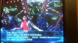 indian idol grand finale by ananya 6.9.2015