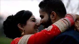 Latest Punjabi Post-Wedding Songs - Choode Wali Baah/Tera Naam - Punjabi Couple