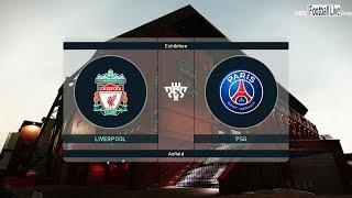 PES 2019 | Liverpool FC vs PSG | Full Match & Amazing Goals | Neymar vs Salah | Gameplay PC