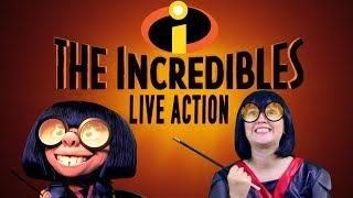 The Incredibles EDNA MODE Live Action Disney Pixar - Madi2theMax